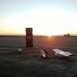 PrecisionHawk drones we used at a testing event for LATAS.